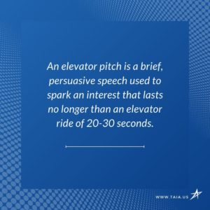 How to Introduce Yourself with an Elevator Pitch
